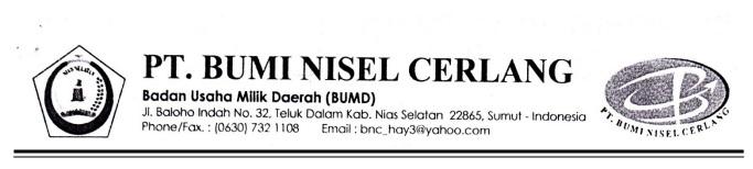 Kop Surat BUMD BNC | IST