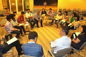 Mahasiswa/i & Pemuda/i Nias peserta LC-Nias | Risman Zalukhu