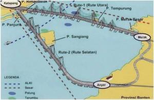 Sketsa Jembatan Selat Sunda | IST