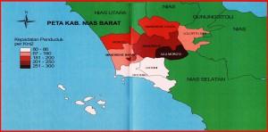 Peta Nias Barat | berita-asn.blogspot.com