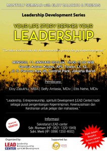 Flyer LEAD Center Januari 2015