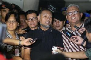 Bambang Widjojanto saat dibebaskan | metrotvnews.com