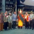 Menteri Pariwisata dan rombongan di Desa Bawomatlauo | Kornelius Nehe