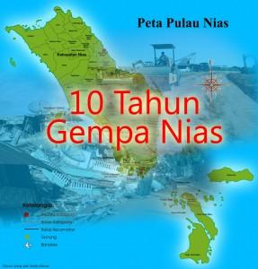 Ilustrasi 10 Tahun Gempa Nias | NiasSatu.com