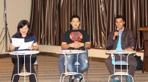 Tim Juri presentasi kepemimpinan pada Seminar LC Indonesia 12 April 2015 | LC Indonesia