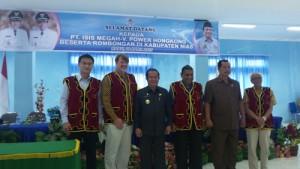Pimpinan VPower Group dan Bupati Nias Sokhiatulo Laoli | VPower