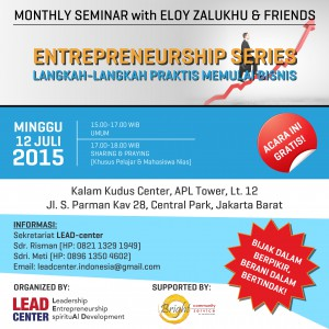 Flyer Seminar LC Indonesia 12 Juli 2015 | LC Indonesia