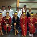 Mahasiswa/i asal Nias yang tergabung dalam Tim Tari Tuwu di Unika Atmajaya, Jakarta | Tim