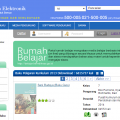 Tampilan situs untuk mengunduh buku pelajaran SD-SMA/SMK dengan gratis | NS
