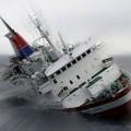 Ilustrasi kapal tenggelam | beritatrans.com