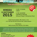 Flyer Seminar LEAD Center Indonesia, Minggu, 12 September 2015