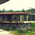 Bangunan kantor Bupati Nias Utara yang diperiksa   FZ