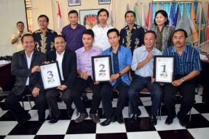 Pasangan calon kepala daerah Kabupaten Nias | KPU Nias