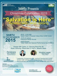 Undangan Natal LC Indonesia