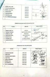 Peserta RDPU Komisi A DPRD Nias Selatan