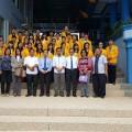 Tim Komisi B DPRD Nias Selatan bersama para mahasiswa/i asal Nias Selatan yang dibeasiswakan oleh Pemda Nias Selatan di Universitas Batam   Kariaman Maduwu