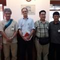 Pertemuan Tim Ahli UGM-Jepang dengan Unesco Indonesia terkait pengajuan Desa Bawomataluo sebagai Warisan Dunia di kantor Unesco di Jakarta, Senin, 18 Juli 2016 | Etis Nehe