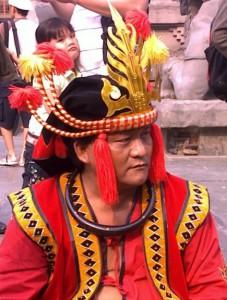 Pjs. Kepala Desa Bawomataluo Dasa Manao | Dok. Pribadi/FB