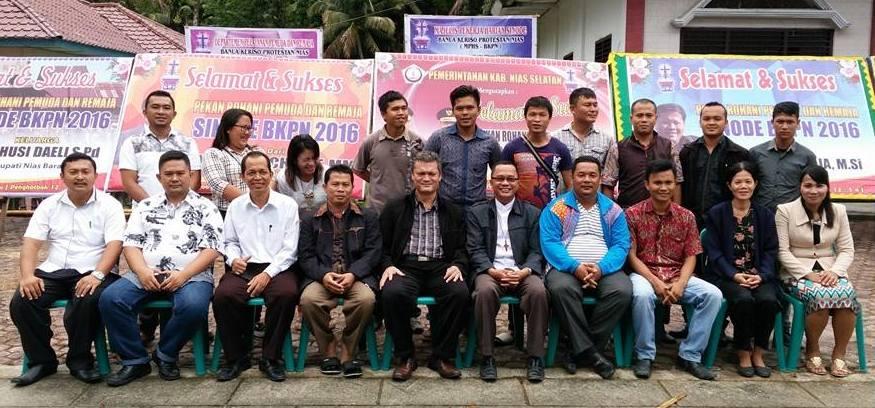 Panitia Pekan Rohani Pemuda-Remaja BKPN | Dok. Pdt. Alvius Wau