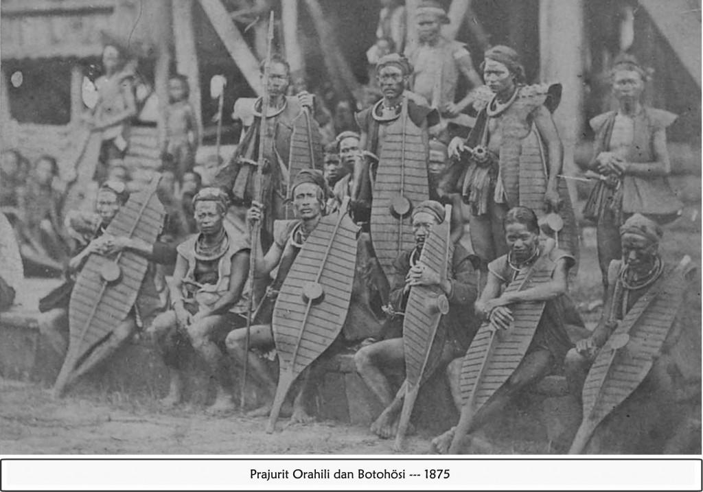 Prajurit Orahili dan Botohosi | Dok. Samuel Novelman Wau