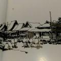 """Bawömataluo dalam sketsa   Repro dari Buku """"Nias (Bawömataluo Village) in Sketches"""" karya Gagoek Hardiman & Agung Dwiyanto   Diolah Redaksi Nias Satu"""